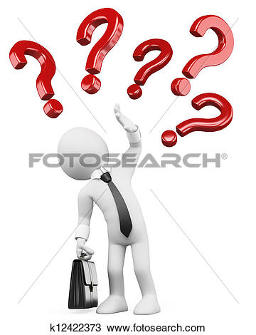 Stock Illustration of 3d white people. Question k9769709.