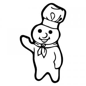 Pillsbury Dough Boy Clipart.