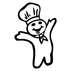 pilsbury doughboy coloring pages.