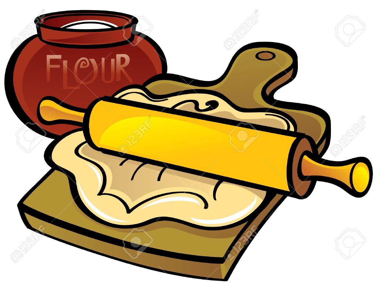 Rolling dough clipart 8 » Clipart Portal.