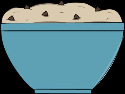 Cookie Dough Clipart.