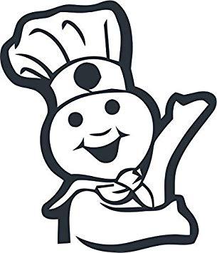 Amazon.com: All Things Valuable Pillsbury Doughboy Wall.