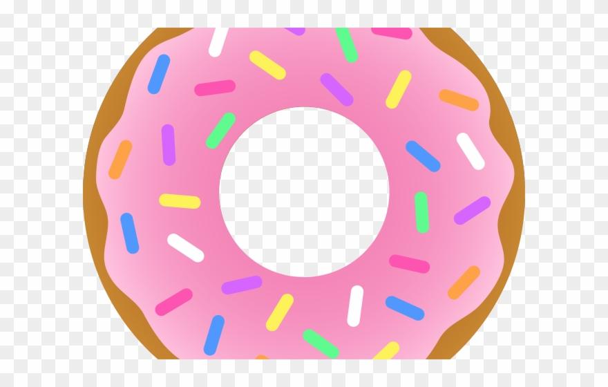 Doughnut Clipart Vector.