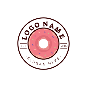 Free Doughnuts Logo Designs.