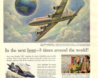 the douglas aircraft company s advertisement an