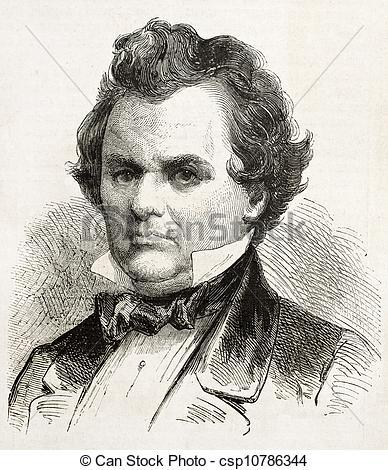Drawing of Douglas.