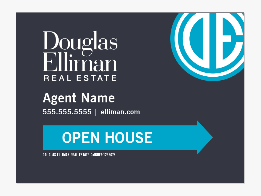 Douglas Elliman Real Estate Sign, HD Png Download.