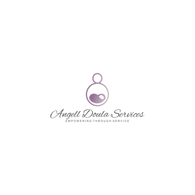 Professional logo for Doula Services.
