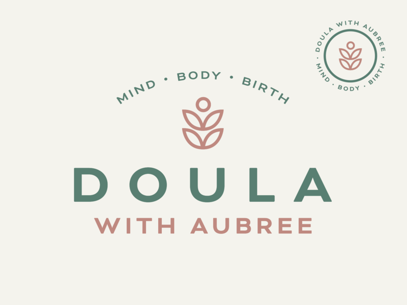 Doula with Aubree.