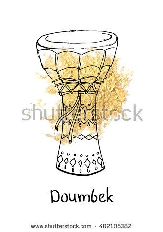 Doumbek Stock Photos, Royalty.