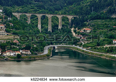 Stock Photo of Douro Valley.