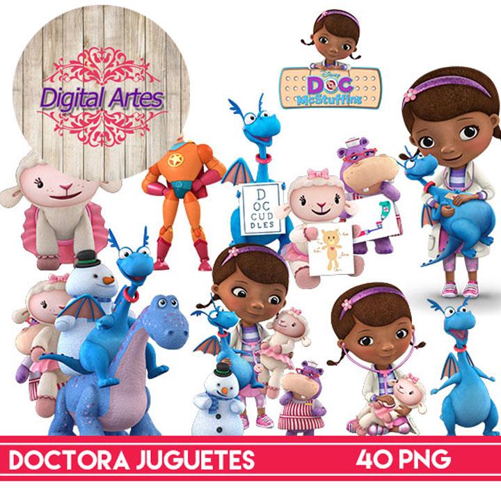 Kit Digital Doutora Brinquedos.