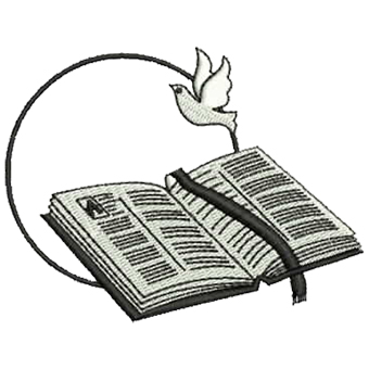 Doves And Bible Clipart.