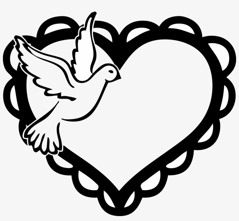 Dove Clipart Two Heart Free Collection.