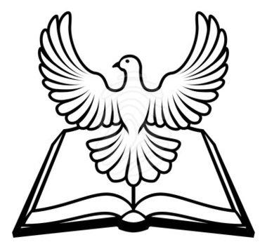 Holy spirit dove clipart black and white panda free.