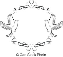 Dove border Vector Clip Art Royalty Free. 659 Dove border clipart.