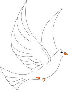 Dove Wedding PNG Black And White Transparent Dove Wedding Black And.