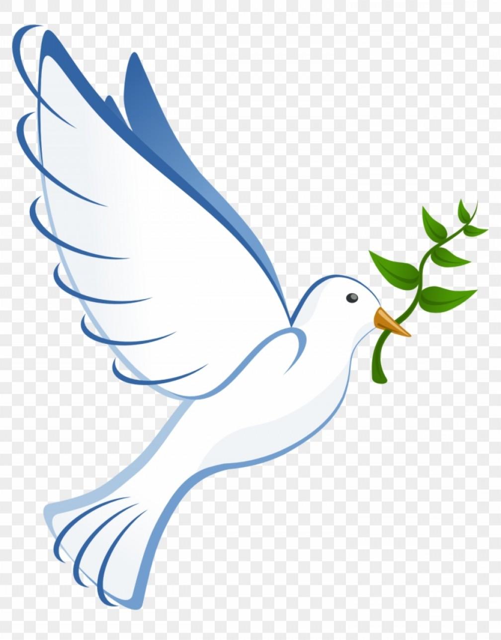 Mikmzgzhholy Spirit Dove Clip Art Peace Dove No Background.