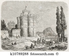 Dovecote Illustrations and Stock Art. 14 dovecote illustration and.