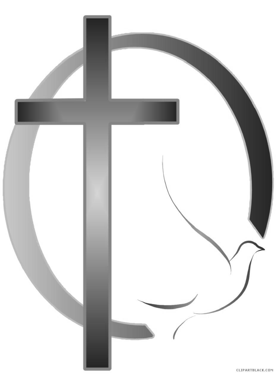 Peace clipart dove cross.