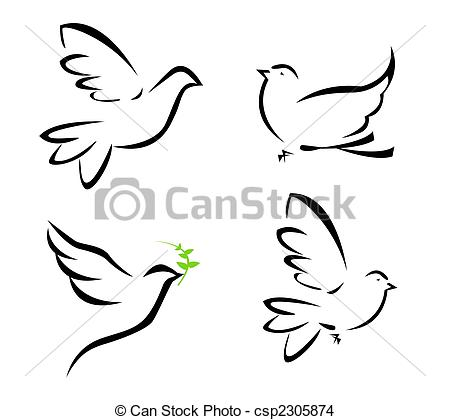Dove Illustrations and Clip Art. 12,535 Dove royalty free.