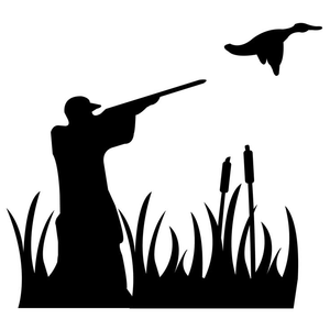Dove Hunting Clipart.