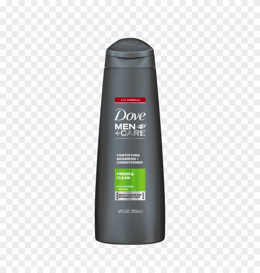 Dove Men Care Fresh & Clean Fortifying 2 In 1 Shampoo.