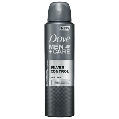 Dove Men Care Deodorant Spray Silver Control Anti.