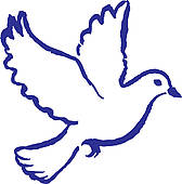 Peace Dove Clip Art.