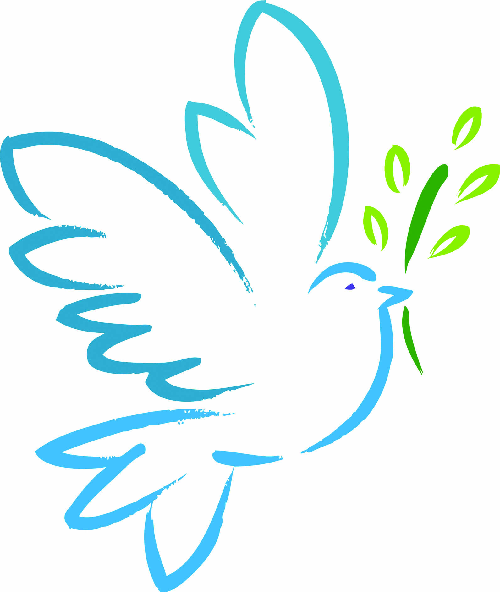 Free clipart dove of peace.