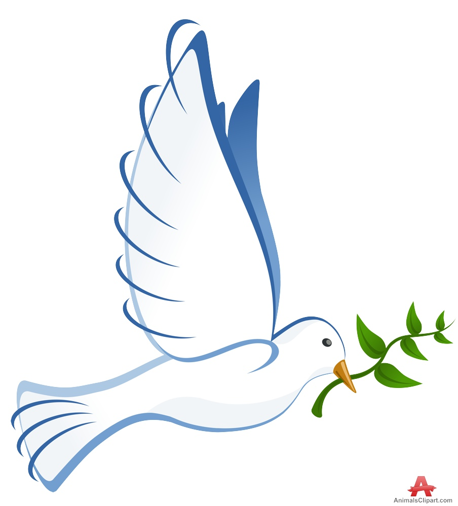Clipart dove with olive branch 5 » Clipart Station.