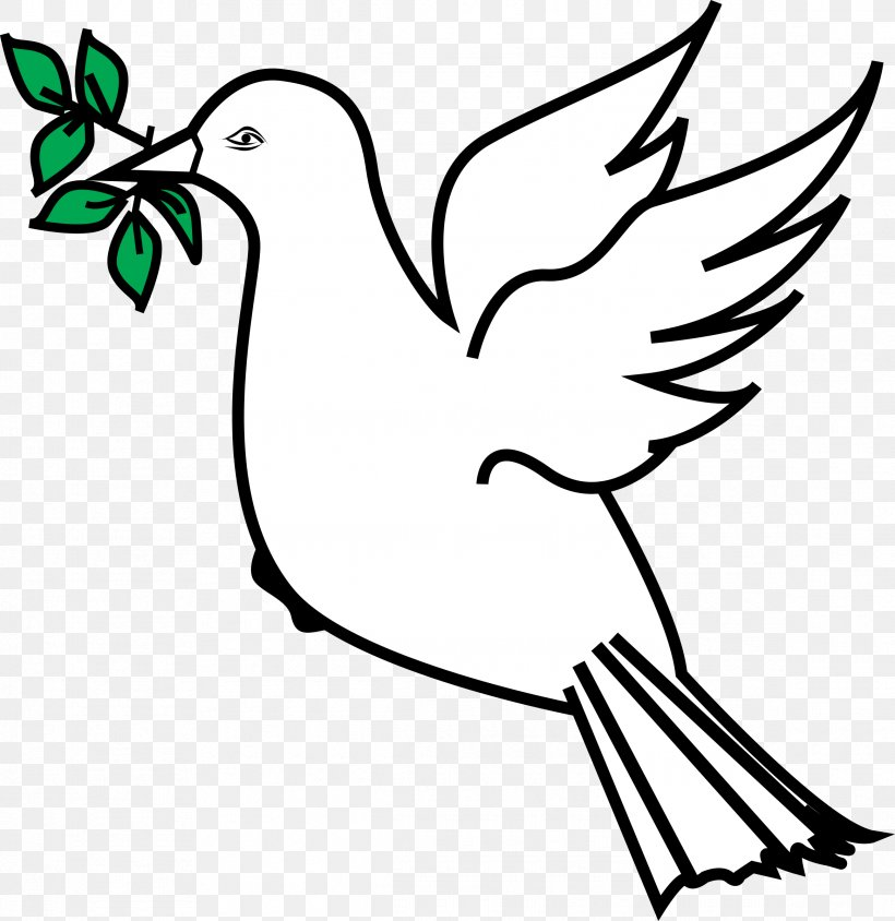 Olive Branch Doves As Symbols Peace Symbols Clip Art, PNG.