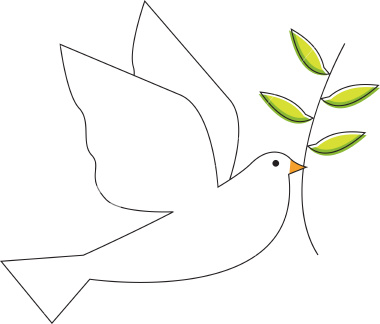 Free Picture Of Dove With Olive Branch, Download Free Clip.