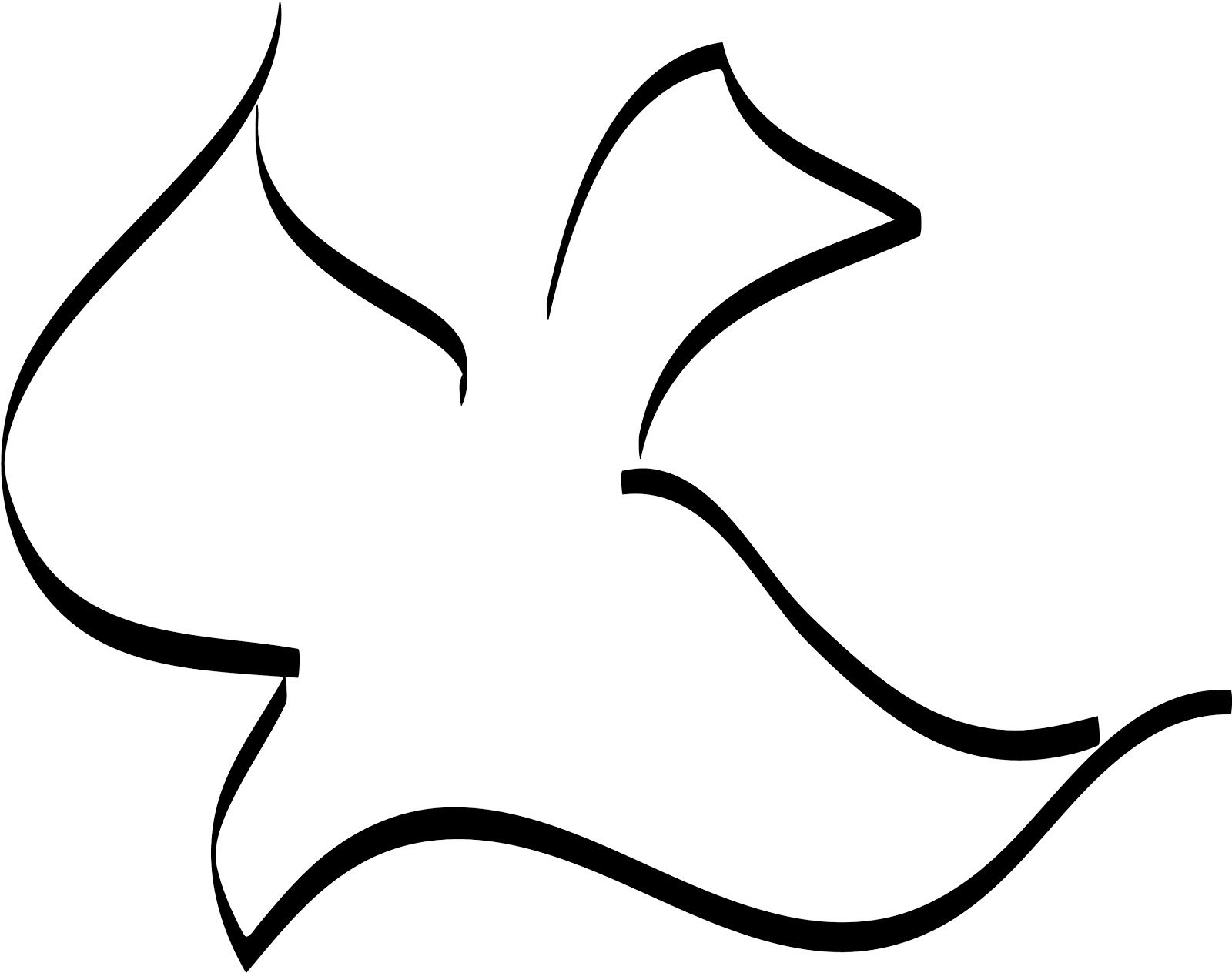 This is best Dove Outline #7645 Dove Outline for your project or.