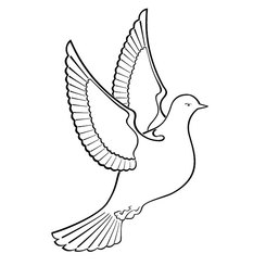 Free DOVE VECTOR CLIPART.eps Vector Graphic.