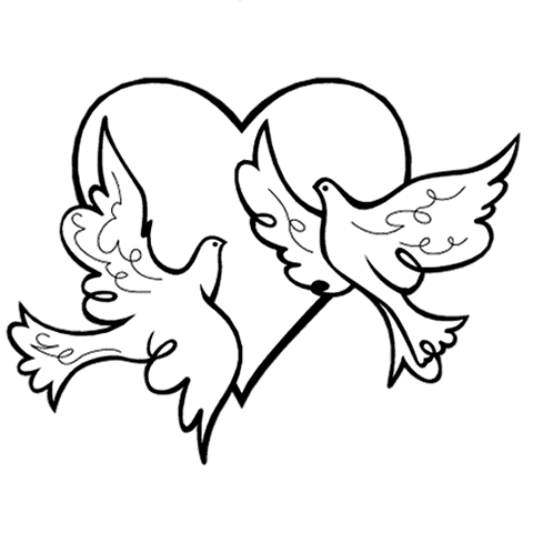 Wedding clip art, Clip art of a pair of beautifully wrapped.
