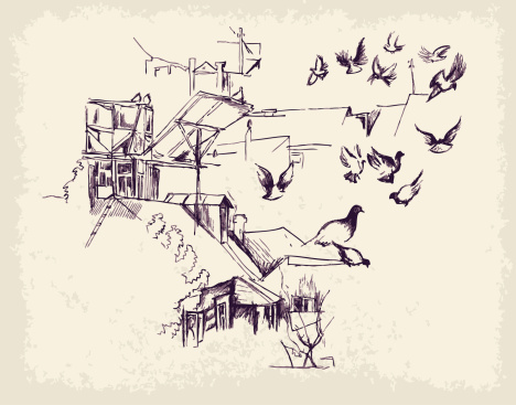 Dovecote Clip Art, Vector Images & Illustrations.