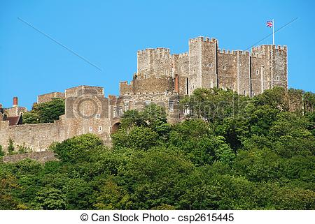 Stock Images of Dover castle.
