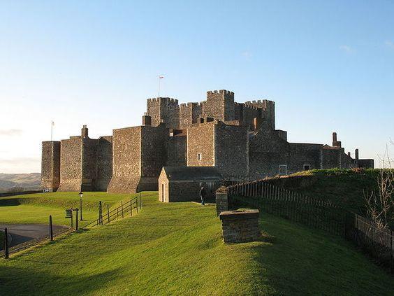 Dover Castle The largest castle in England, Dover Castle has a.