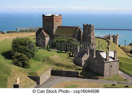 Stock Photographs of Dover castle England UK csp16044598.