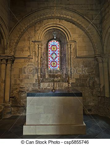 Stock Image of Dover Castle Kings Chapel csp5855746.