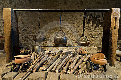 Medieval Castle Kitchen Stock Photos, Images, & Pictures.