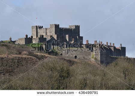 Dover Castle Stock Photos, Royalty.