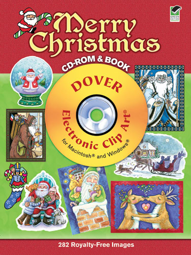Free Christmas Clip Art from Dover.