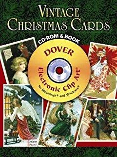 Vintage Christmas (Dover Pictura Electronic Clip Art): Alan Weller.