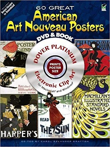 60 Great American Art Nouveau Posters Platinum DVD and Book.