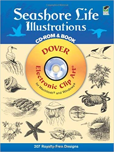 Seashore Life Illustrations (Dover Electronic Clip Art.