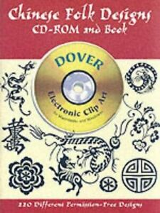 Details about Chinese Folk Designs (Dover Electronic Clip Art) by Clip Art  CD.