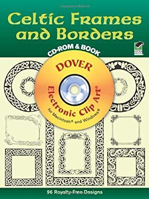 Celtic Frames and Borders CD.