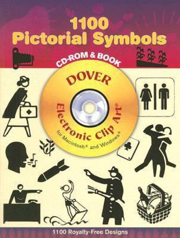 1100 Pictorial Symbols (Dover Electronic Clip Art) (CD.